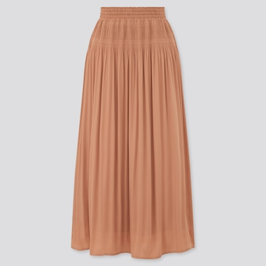 Women Gathered Long Skirt