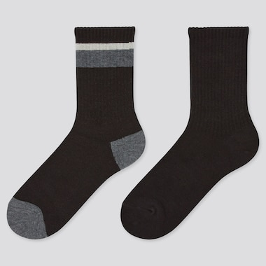Kids Heattech Socks (2 Pairs) (Online Exclusive), Black, Medium