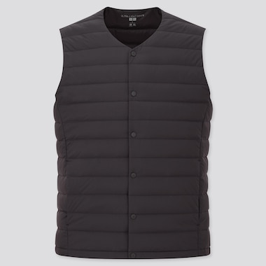 Men Ultra Light Down Compact Vest, Black, Medium