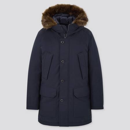 MEN Ultra Warm Down Hooded Coat