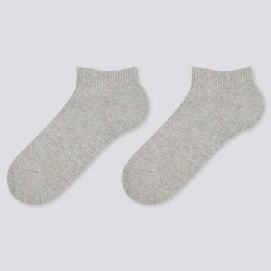 Kids Short Socks, Gray, Medium