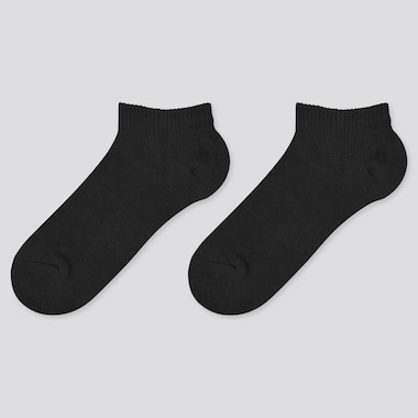 Kids Short Socks, Black, Medium