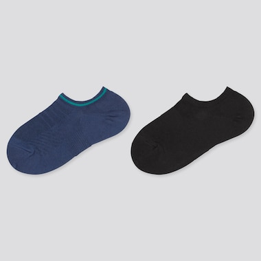 Kids Short Socks, Blue, Medium