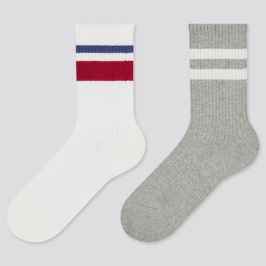Kids Regular Socks, Off White, Medium
