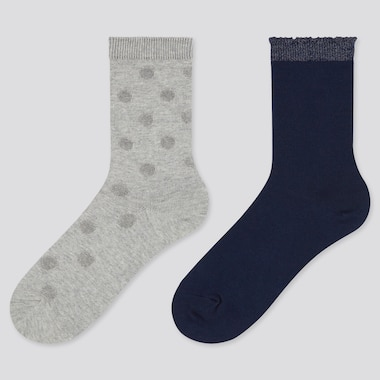 Girls Regular Socks (Two Pairs)