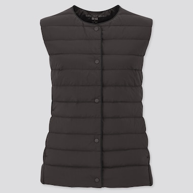 Women Ultra Light Down Compact Vest