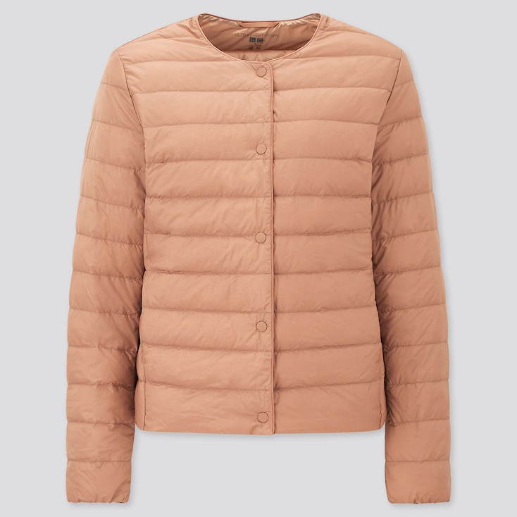 Women Ultra Light Down Compact Jacket, Pink, Large