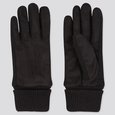 Knit Lined Soft Touch Gloves