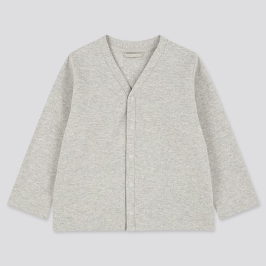 Toddler Long-Sleeve Cardigan (Online Exclusive), Gray, Medium