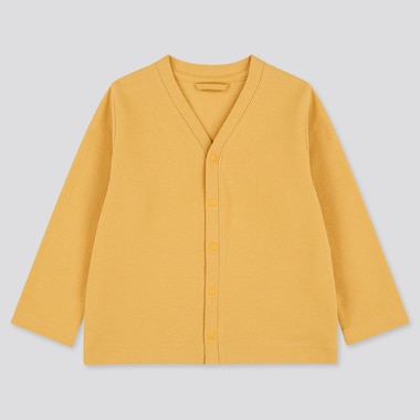 Toddler Long-Sleeve Cardigan (Online Exclusive), Yellow, Medium