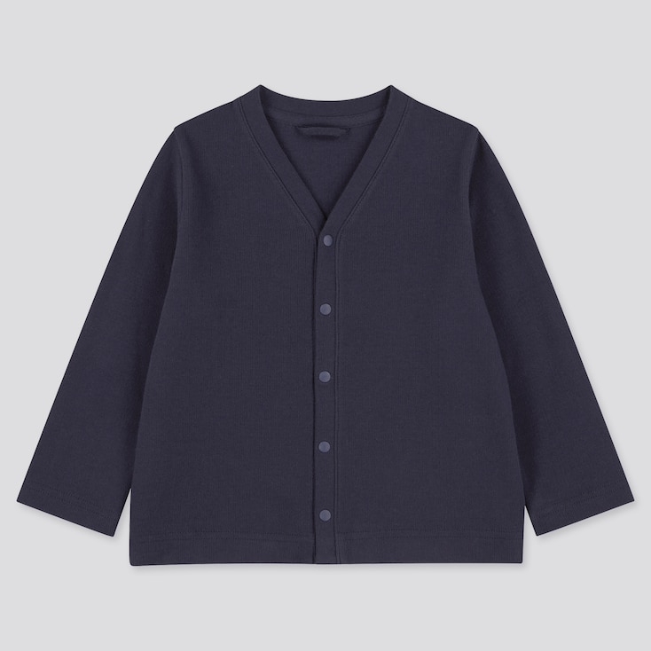 Toddler Long-Sleeve Cardigan (Online Exclusive), Navy, Large