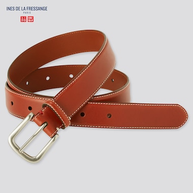 WOMEN Ines Leather Stitched Belt