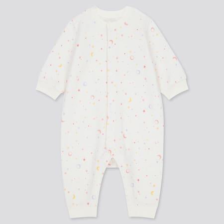 Pyjama Molletonné Imprimé Lune Bébé