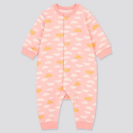Pyjama Molletonné Imprimé Nuage Bébé