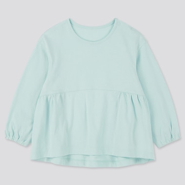 Babies Newborn Crew Neck Long Sleeved T-Shirt