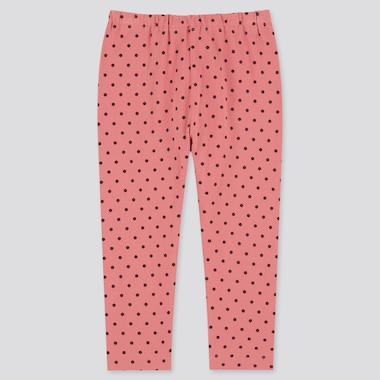 Baby Full-Length Leggings, Pink, Medium