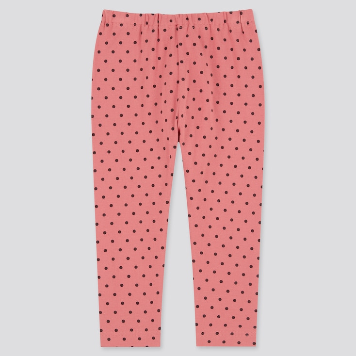 Baby Full-Length Leggings, Pink, Large