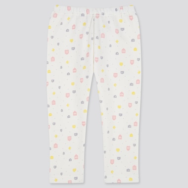 Babies Toddler Tree Printed Fleece Leggings