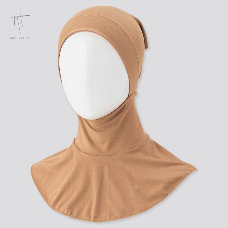 Women Airism Hijab (Hana Tajima), Beige, Large