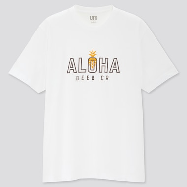 MEN THE BRANDS HAWAII SHORT SLEEVED UT GRAPHIC T-SHIRT