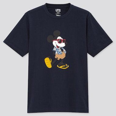 Magic For All Icons Hawaii Ut (Short-Sleeve Graphic T-Shirt), Navy, Medium