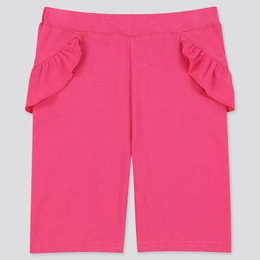 Baby Dry Half Leggings, Pink, Medium