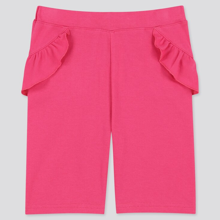 Baby Dry Half Leggings, Pink, Large