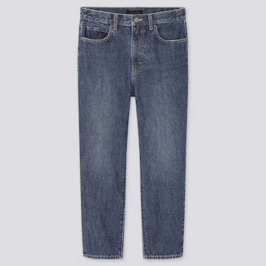 Damen lockere Jeans in 7/8-Länge