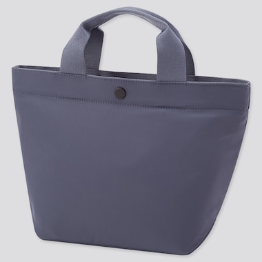 Women 2-Way Nylon Tote Bag, Blue, Medium