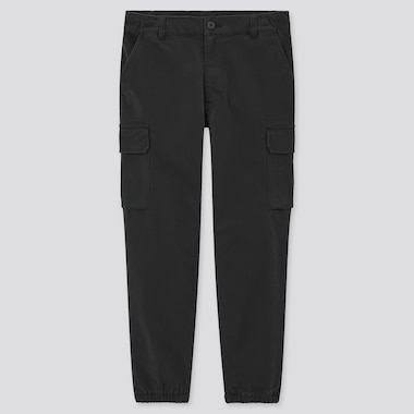 Men Cargo Jogger Pants (Tall), Black, Medium