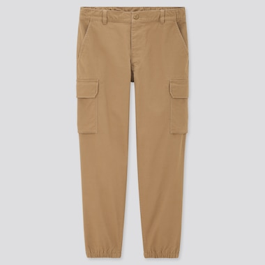 Men Cargo Jogger Pants (Tall), Khaki, Medium