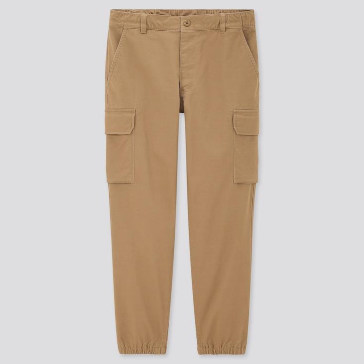 Men Cargo Jogger Pants (Tall), Khaki, Large