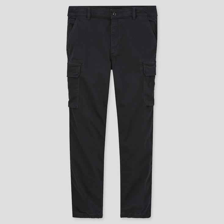 Men Cargo Jogger Pants (Tall) (Online Exclusive), Black, Large