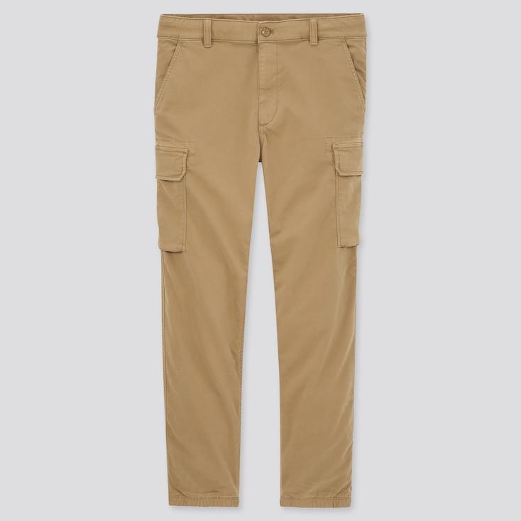 Men Cargo Jogger Pants (Tall) (Online Exclusive), Khaki, Large