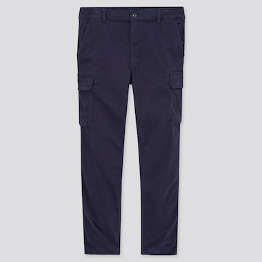 Men Cargo Jogger Pants, Navy, Medium
