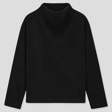 Pull En Tricot Col Montant FEMME