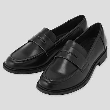Women Comfort Feel Touch Loafers, Black, Medium