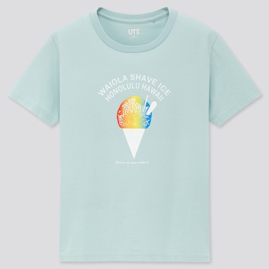 Kids The Brands Hawaii Ut (Short-Sleeve Graphic T-Shirt) (Online Exclusive), Light Green, Medium