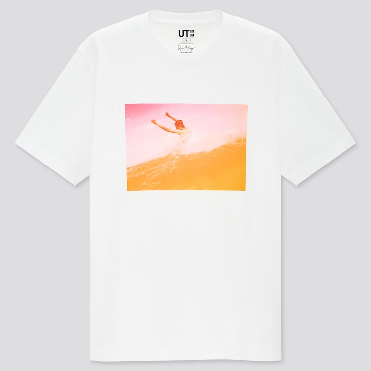 Ryan Mcginley Ut (Short-Sleeve Graphic T-Shirt), White, Large