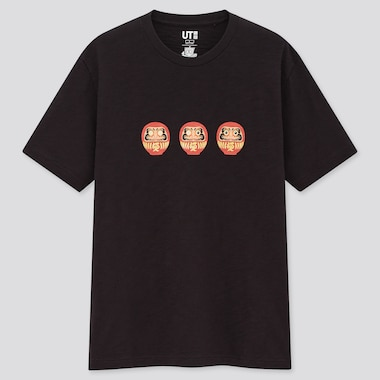 Omiyage Engimono Ut (Short-Sleeve Graphic T-Shirt) (Online Exclusive), Black, Medium