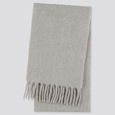 Wool Blend Brushed Scarf