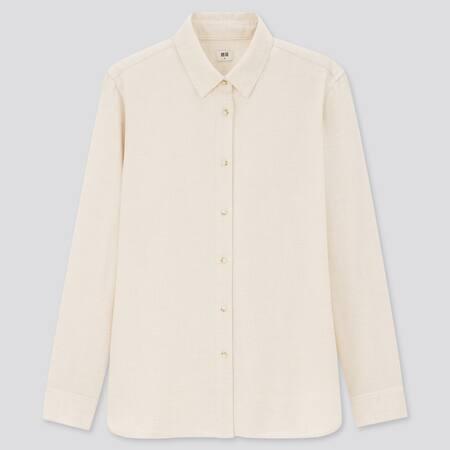 WOMEN Flannel Long Sleeved Shirt
