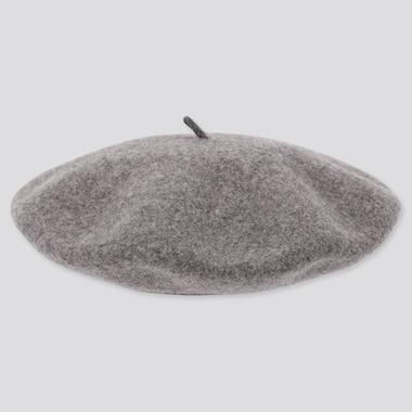 Sombrero Beret Lana Mujer