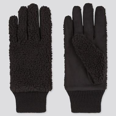 Curly Fleece Gloves
