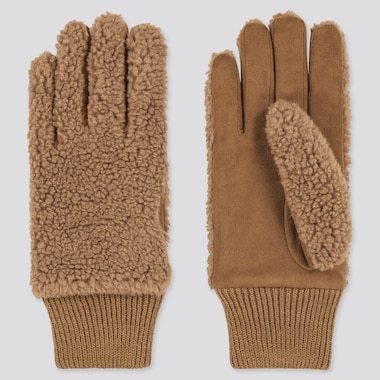 Curly Fleece Gloves