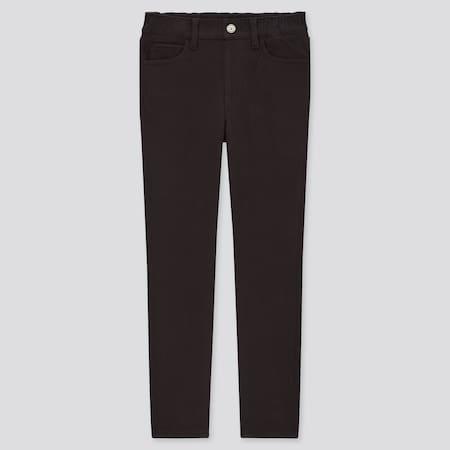 Kids HEATTECH Ultra Stretch Slim Fit Pull-On Trousers