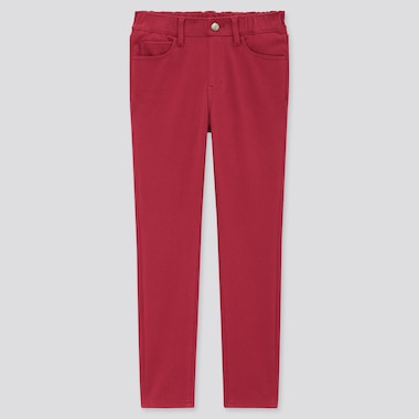 Kids HEATTECH Ultra Stretch Slim Fit Pull-On Trousers