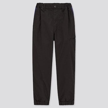 Kids Stretch Warm-Lined Jogger Pants, Black, Medium