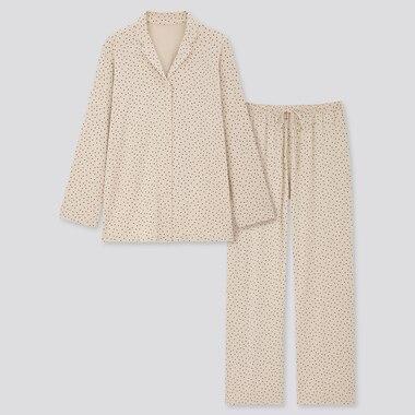 Women Drape Jersey Long Sleeved Pyjamas