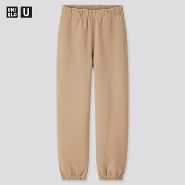 Women U Sweatpants, Beige, Medium